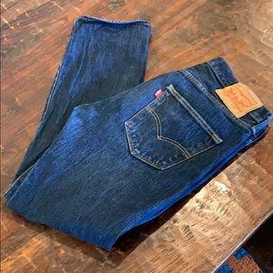 Levi's 501 button up jeans